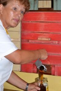 Vente du miel au détail