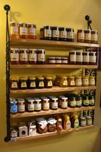 Un bel assortiment de miels