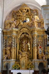 L'intérieur de la chapelle Sainte Marie