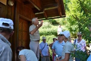 Franck Civic, vice président de l'association des apiculteurs Slovènes