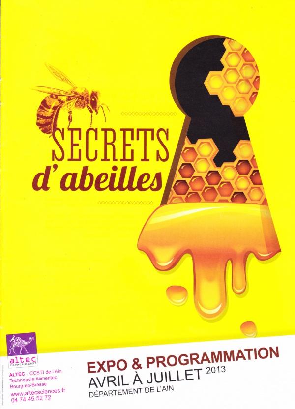 secrets d'abeilles affiche