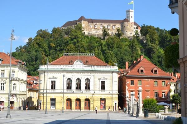 Ljubljana et son château