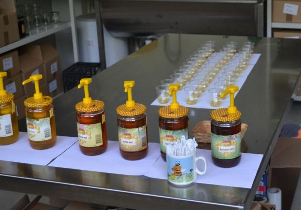 Dégustation de miel et d'hydromel chez Kipgo