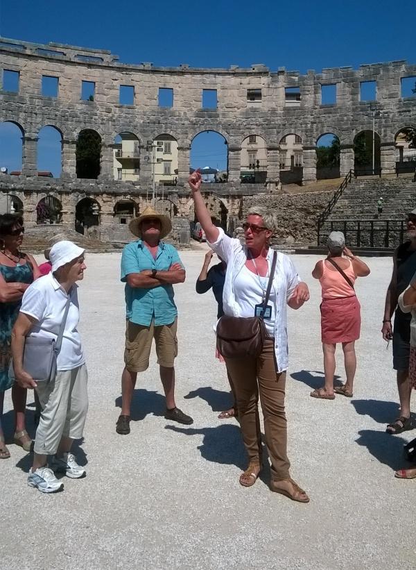 Sonia, notre guide Croate passionnée par l'histoire de l'Istrie