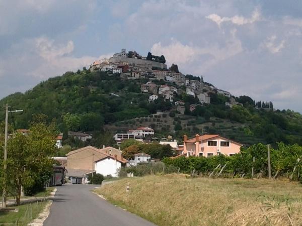 La ville fortifiée de Motovun