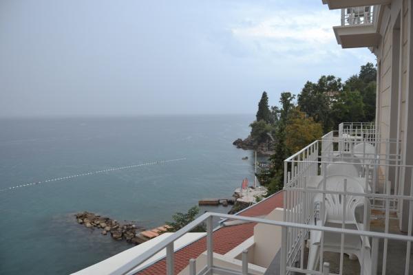 La vue depuis l'hotel