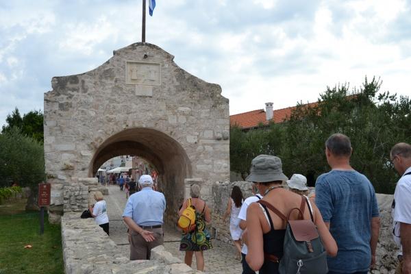 Une des portes d'entrée de la ville