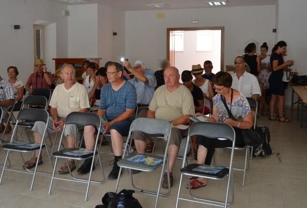 Les apiculteurs à la conférence sur l'apiculture Dalmate.