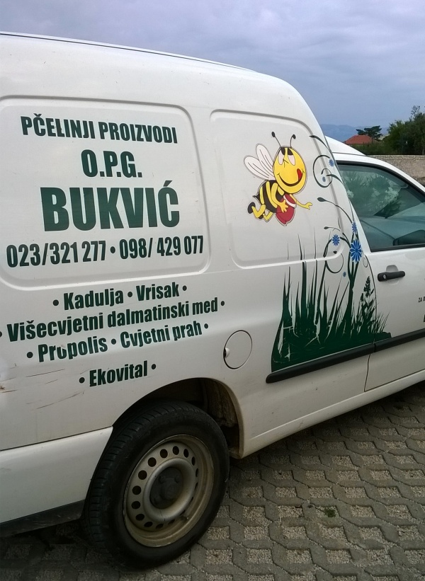 La voiture de Mr Bukvič