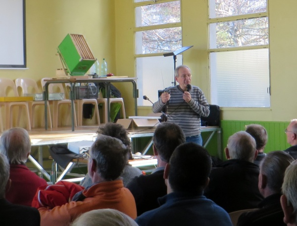 Georges Picot fait le point sur la présence du frelon asiatique dans le département de l'Ain