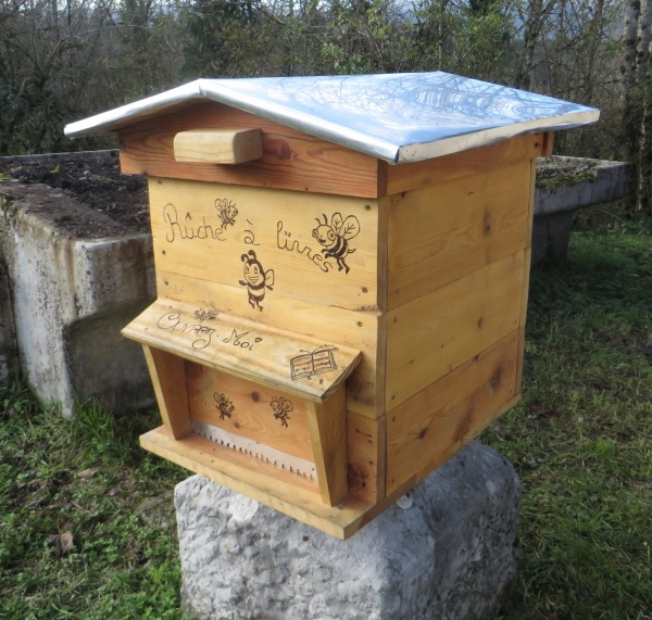 la ruche installée